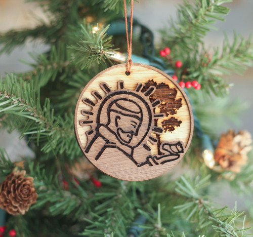 Saint Francis Laser Cut Ornament
