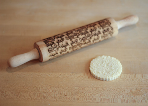 O Holy Night Laser Engraved Rolling Pin