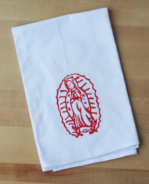 Our Lady of Guadalupe Flour Sack Towel