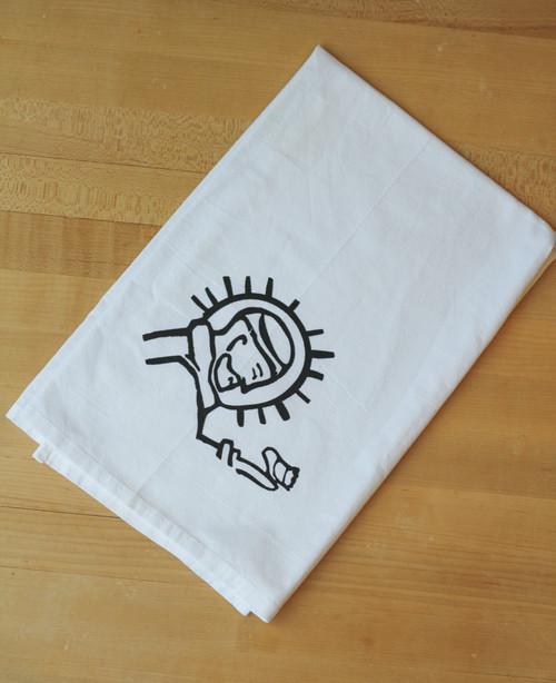 Saint Francis Flour Sack Towel