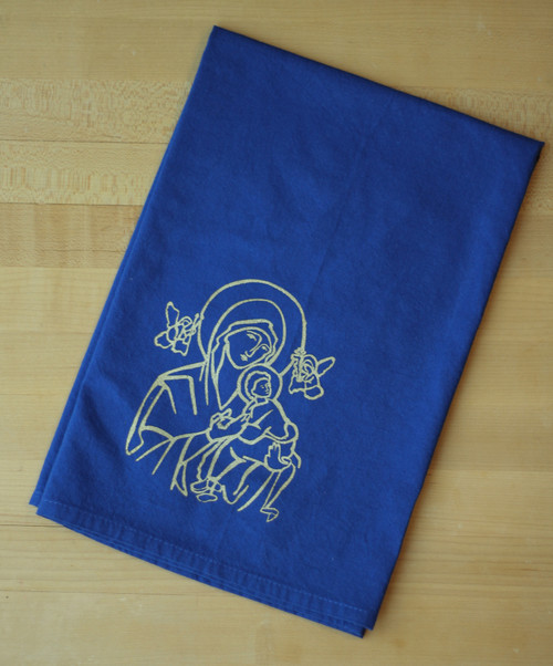 Our Lady of Perpetual Help Flour Sack Towel
