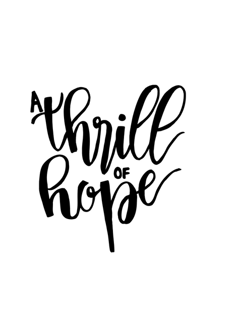A Thrill of Hope 3D Printed Cookie Cutter