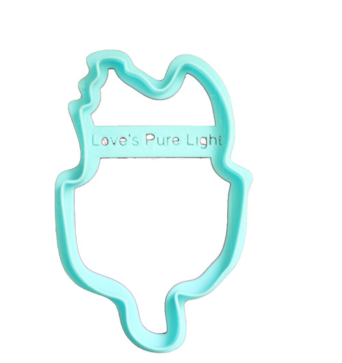 Love's Pure Light 3D Printed Cookie Cutter
