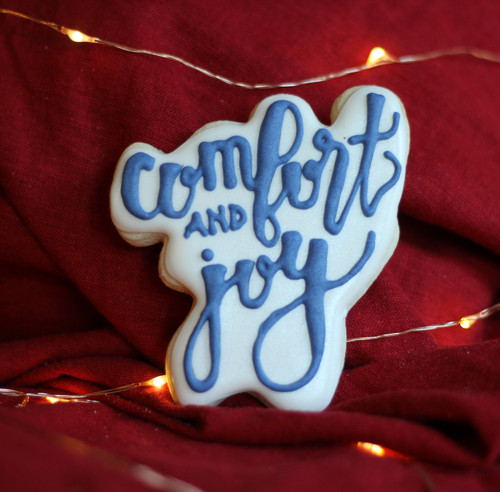 Comfort and Joy 3D Printed Cookie Cutter