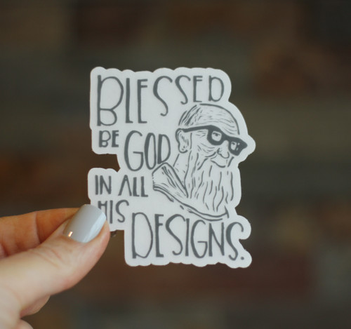 Sticker: Blessed Solanus Casey Clear