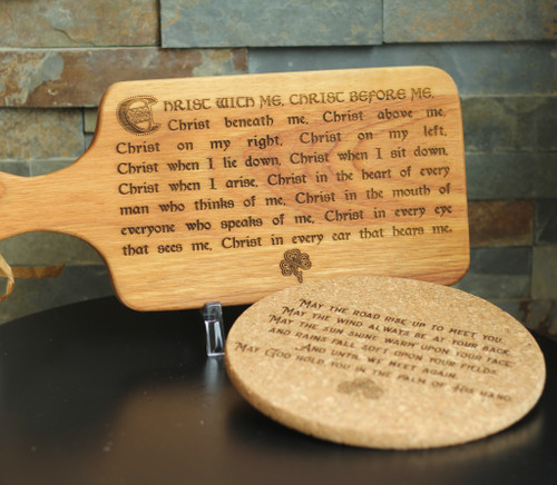 Breastplate of Saint Patrick Cutting Board Set