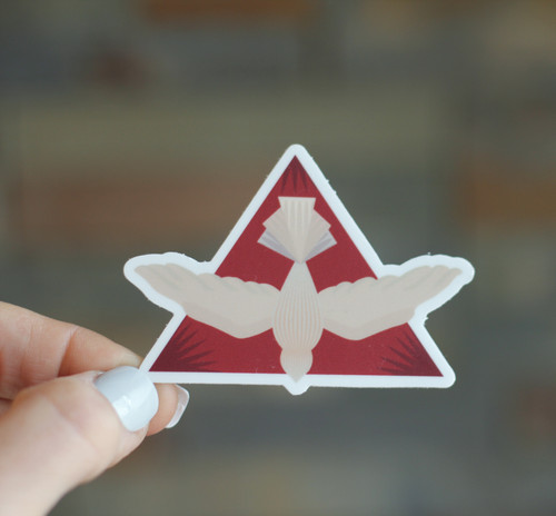 Sticker: Holy Spirit Dove Descending