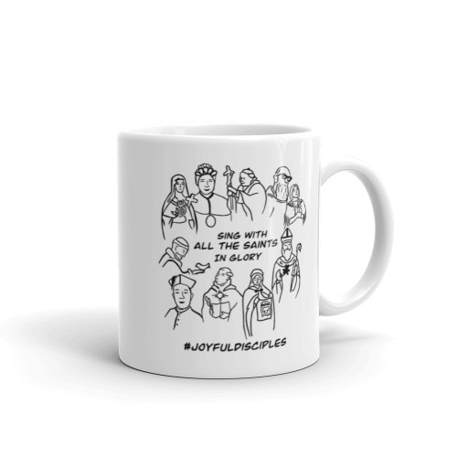 All Saints Mug