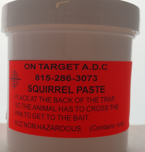 Squirrel paste bait 6oz