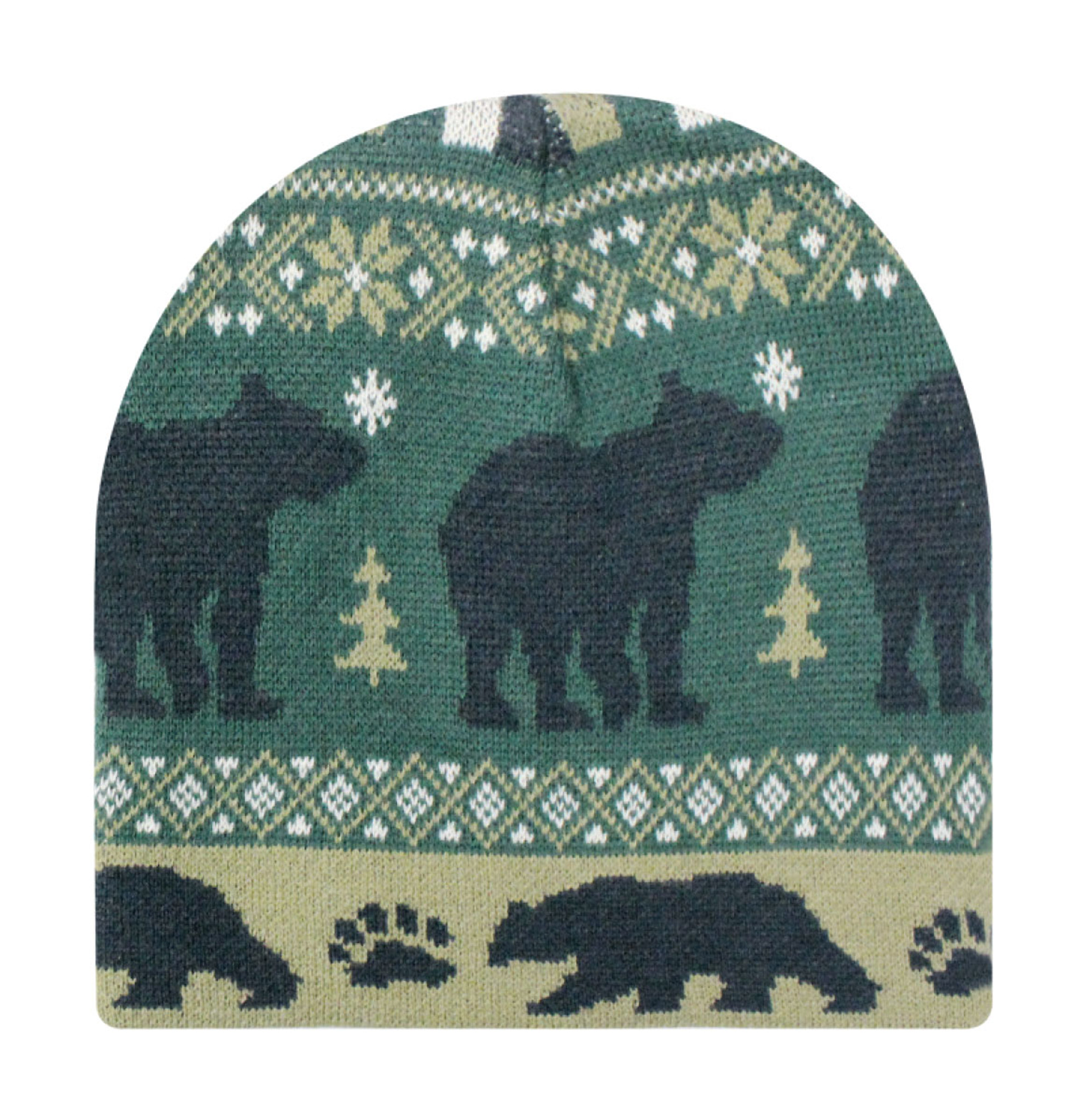 dafcfd22546 Animal Knit Beanie - Bear - I Hate Hats