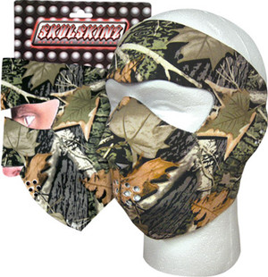 Hunting Camp Camo™ Skulskinz Neoprene Mask