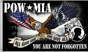 POW*MIA Military Flag