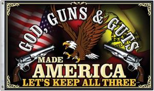 Freedom First Flag: God, Guns & Guts