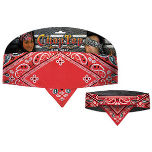 Chop Top:  Good Time Paisley Red