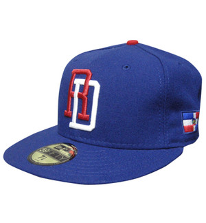 Dominican Republic New Era 59FIFTY Flat Bill