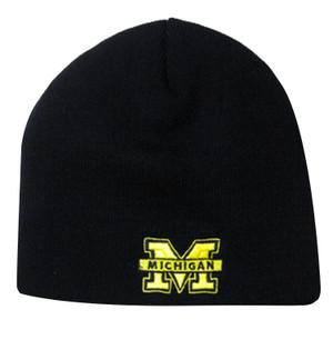Premium College Beanie: Michigan Wolverines
