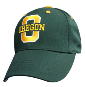 Premium Color Logo: Oregon Ducks - Green