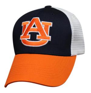Premium Logo Mesh Back: Auburn Tigers