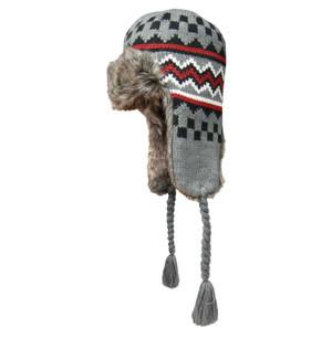Checkered Gray Dakota Dan Hat