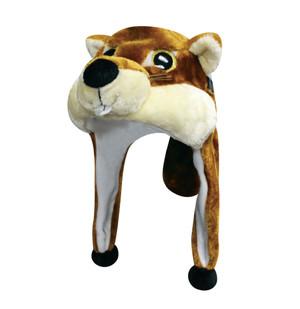 Big Eye Critter Cap: Cheery Chipmunk