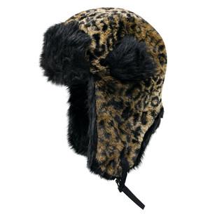 Dakota Dan Trooper Hat Cheetah/Black