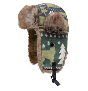 Dakota Dan Trooper Wolf Animal Knit