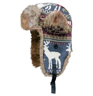 Dakota Dan Trooper Deer Animal Knit