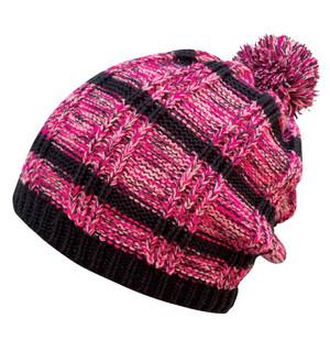 Pom Static Beanie - Pink