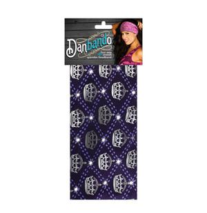 Danbando: Harlequin Crown w/Rhinestones