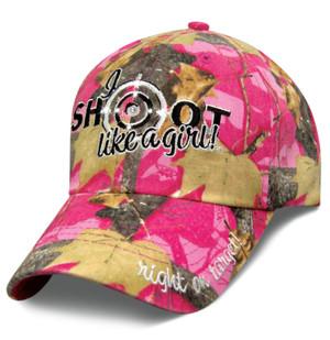 Shoot Like a Girl Pink