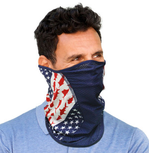 Reel Angler Iconic Flag Face Mask