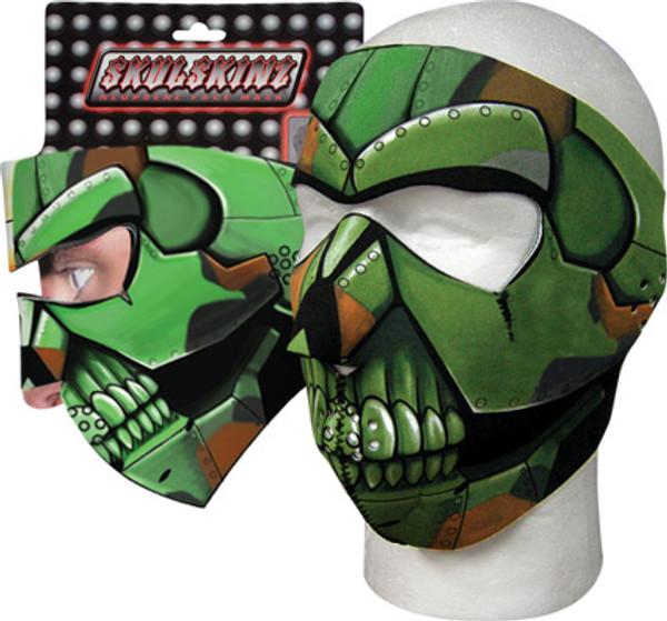 Iron Warrior Skulskinz Neoprene Mask