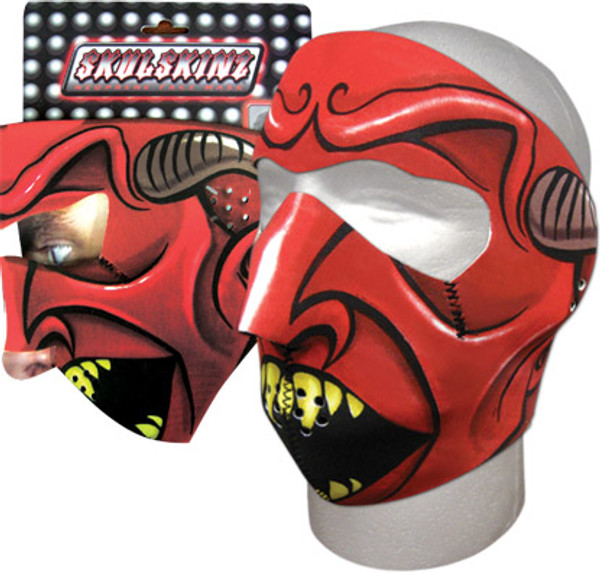 Speed Demon Skulskinz Neoprene Mask