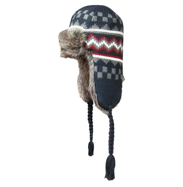 Checkered Navy Dakota Dan Hat
