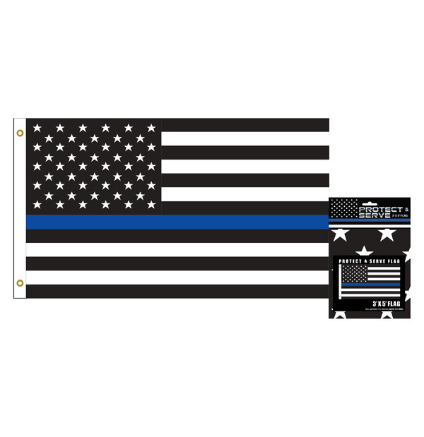 3' X 5' Police Flag