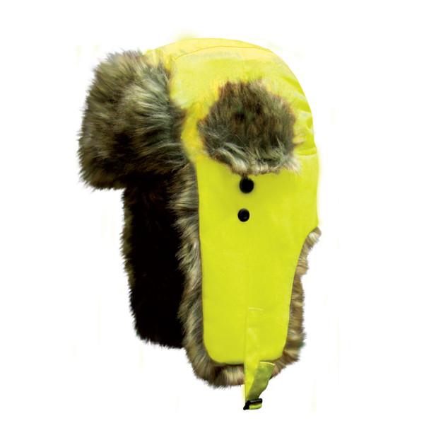 Dakota Dan Trooper Hat High Visibility Yellow