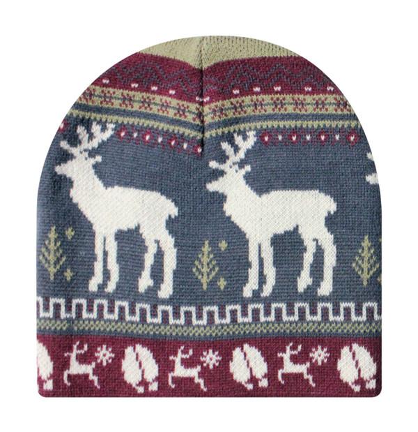Animal Knit Beanie - Deer
