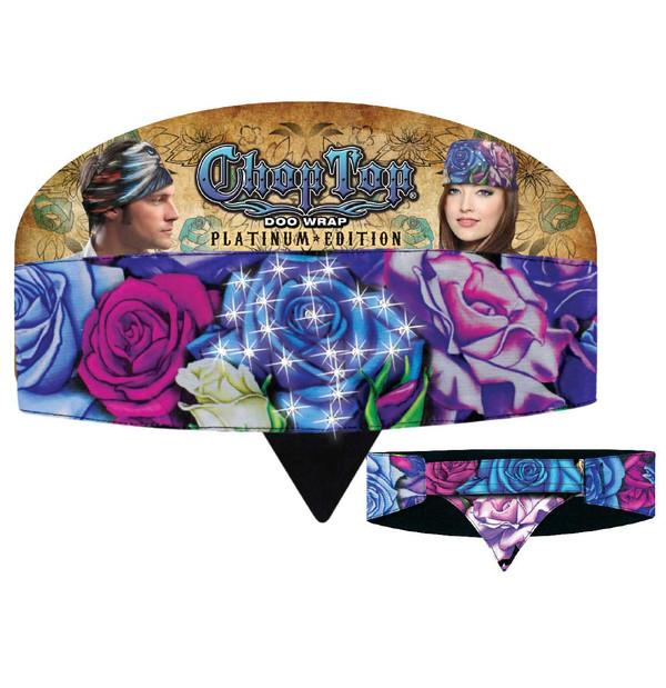 Chop Top Platinum Edition: Roses with Rhinestones