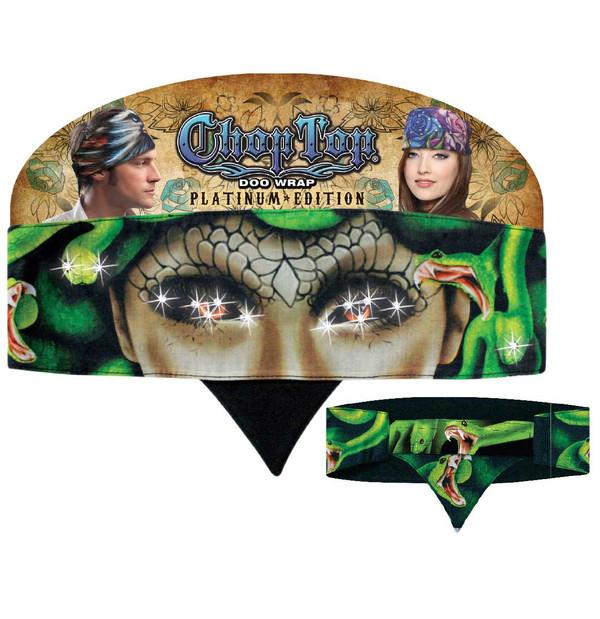 Chop Top Platinum Edition: Medusa with Rhinestones