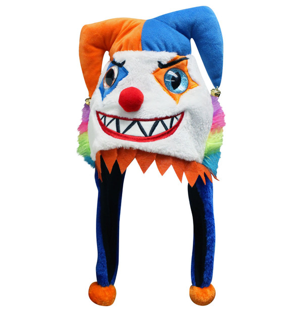 Halloween Big Eye Critter Cap: Evil Jester