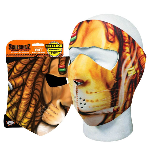 Dreaded Lion Skulskinz Neoprene Mask