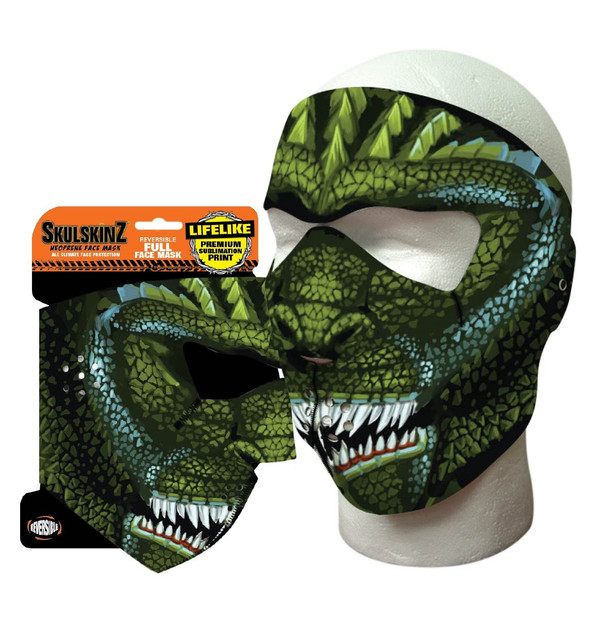 King of Lizards Skulskinz Neoprene Mask