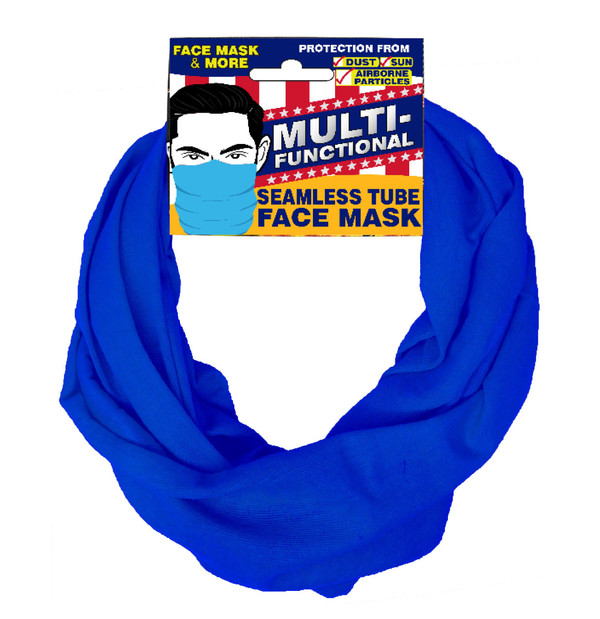 Patriotic Multifunctional Seamless Face Mask Royal