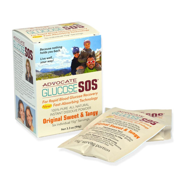 Glucose SOS Rapid Glucose Recovery - Original Sweet & Tangy
