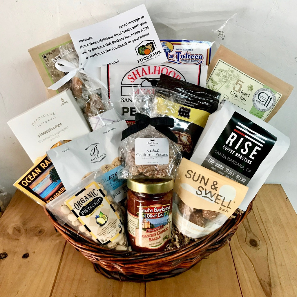 2018 Foodbank Holiday basket