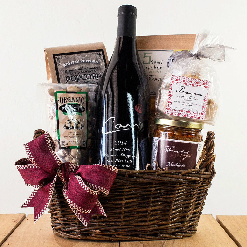 Carr Pinot Noir (The Yard Sta. Rita Hills) Basket