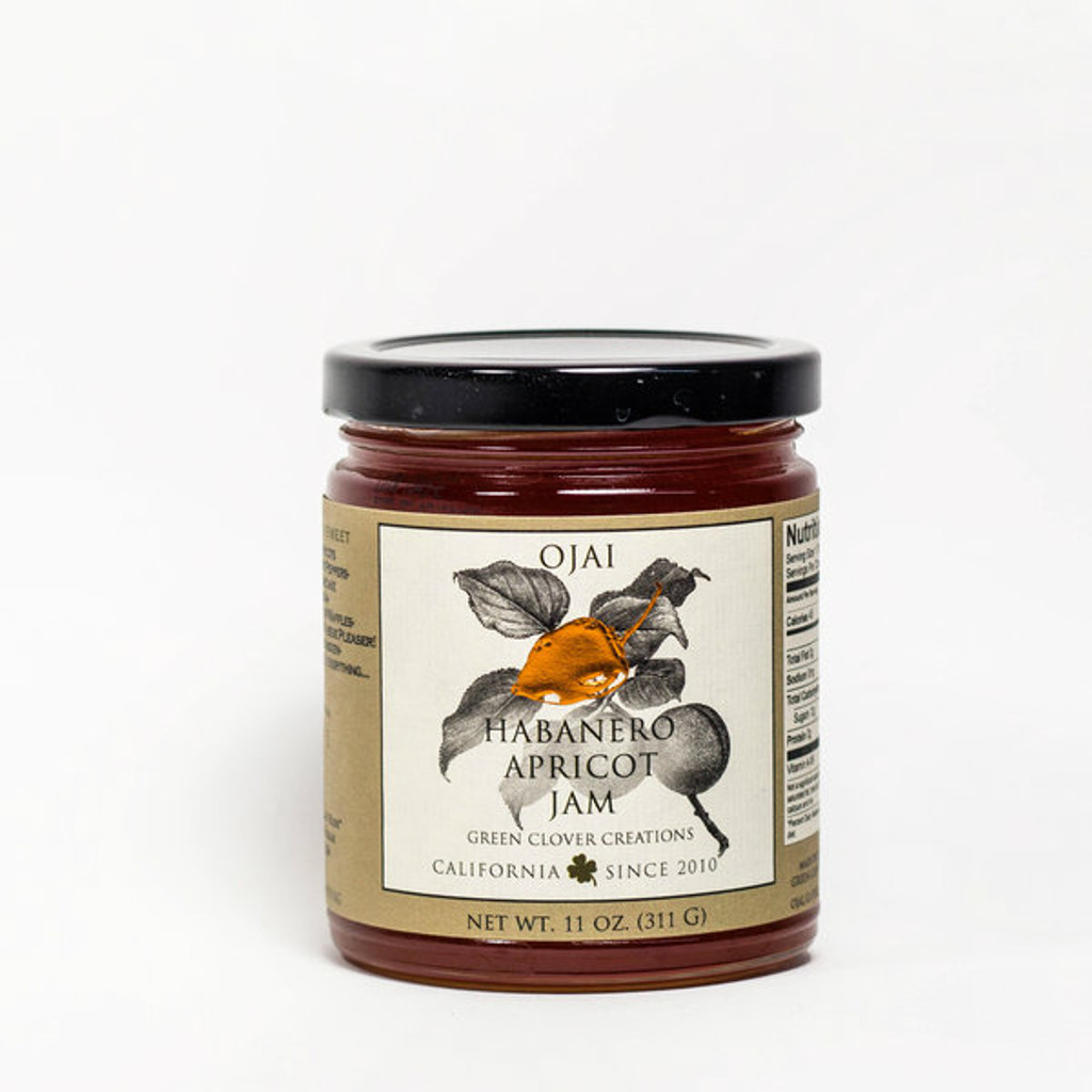 Ojai Apricot Pepper Jelly.