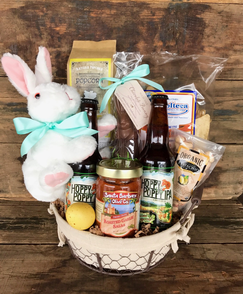 Hoppy Poppy Easter Basket