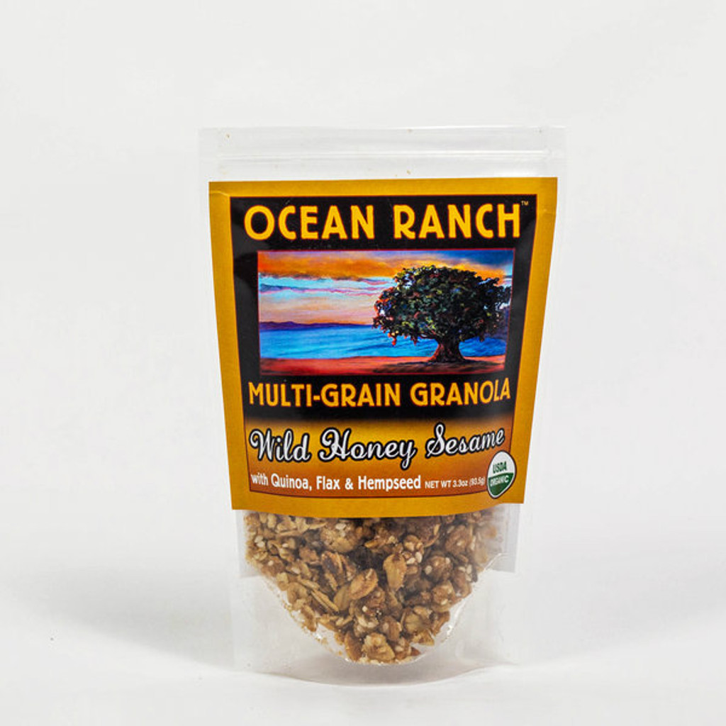 Ocean Ranch Organics Granola.