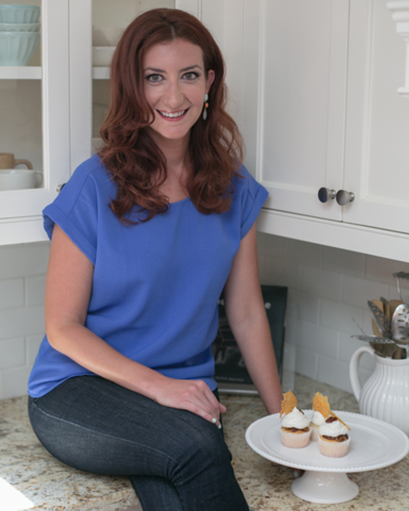 Alison, owner of Sugar Cat Studios, and winner of the Food Network's Cupcake Wars.